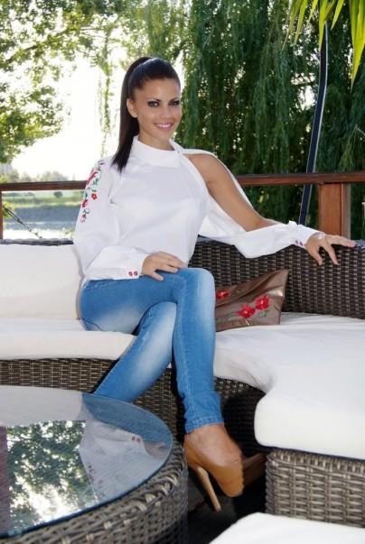 K.Claudia fehér ing