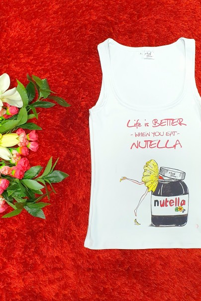 Life is better _nutella top